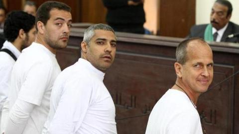 Novinari Al Jazeere na sudu u Egiptu